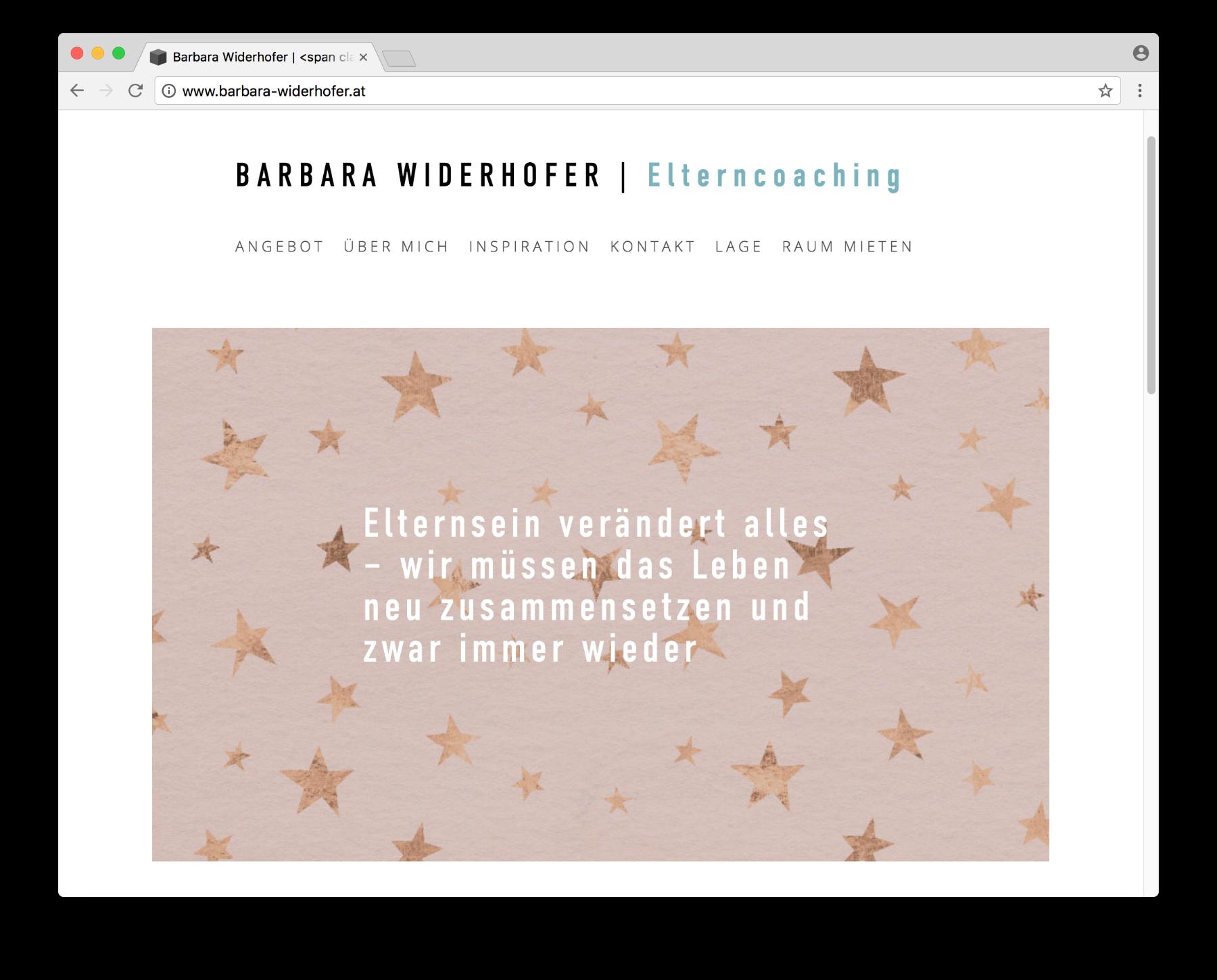 Website-Hilfe für Selbständige | Beispiele