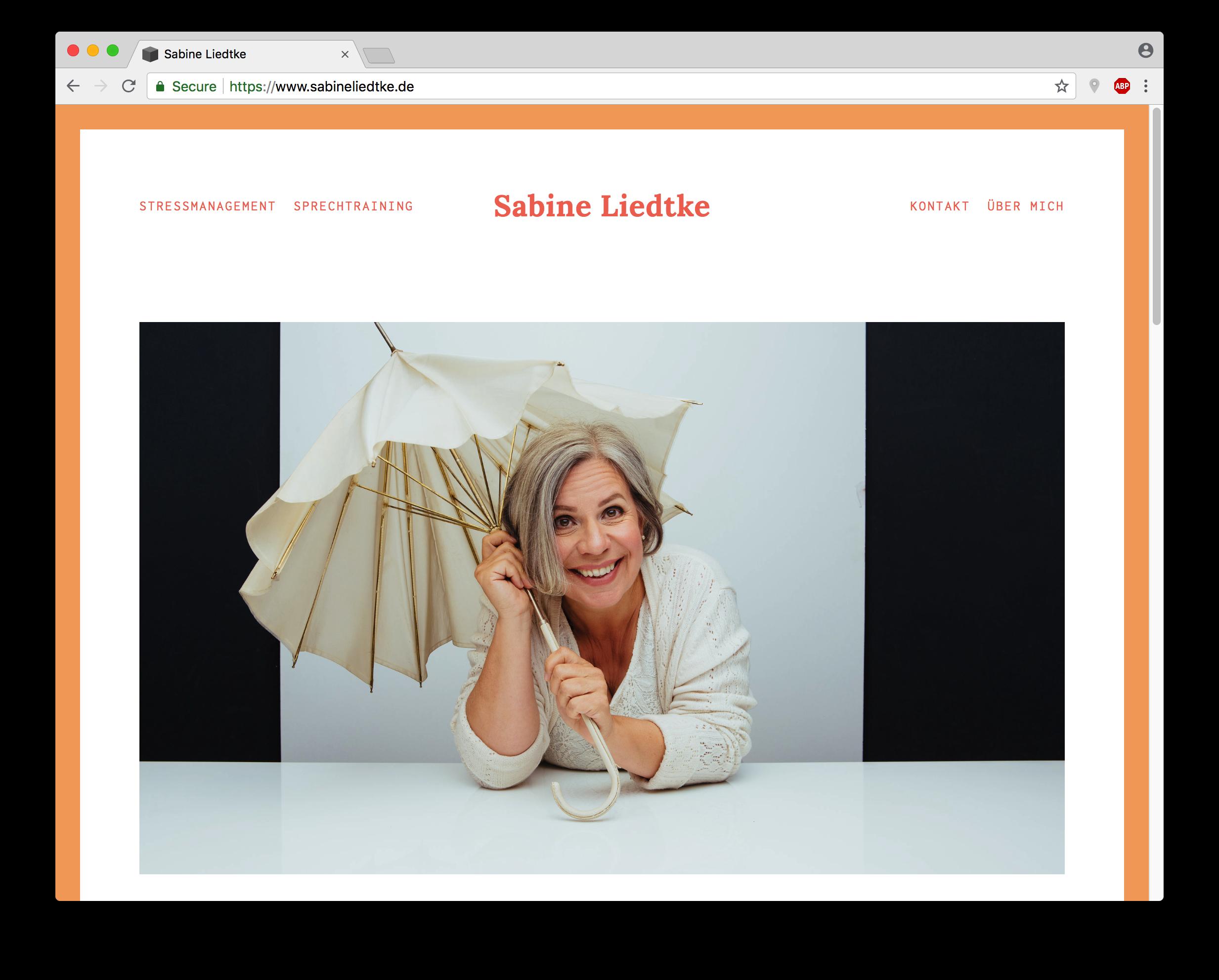 Website-Hilfe für Selbständige   Beispiele